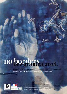 Exhibition opening No Borders 2018 Integration of Art – Art of Integration