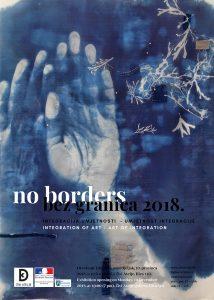 Exhibition opening No Borders 2018 Integration of Art – Art of Integration