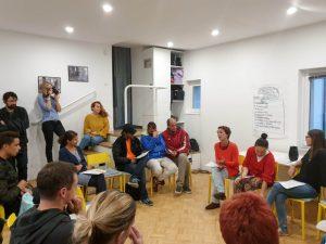 Živi Atelje DK participates in roundtable on integration in Slovenia
